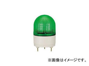 パトライト/PATLITE KHE型 LED表示灯 φ100 点滅・流動・ストロボ発光 緑 KHE24G GN(4591071)
