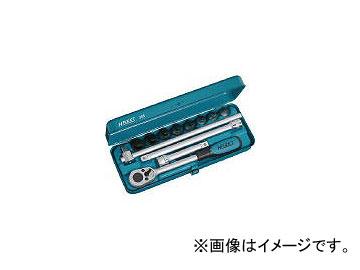 ハゼット/HAZET ヘキサゴンソケットレンチセット(差込角12.7mm) 985(4396766) JAN:4000896046768