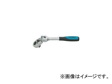 ハゼット/HAZET ラチェットハンドル(小判型ヘッド・首振りタイプ) 差込角12.7mm 916GK(4396596) JAN:4000896046201