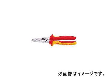 クニペックス/KNIPEX 絶縁1000Vケーブルカッター 200mm 9516200(4469658) JAN:4003773026761