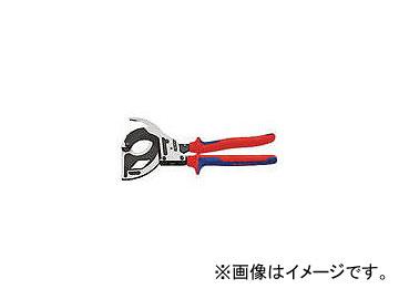 クニペックス/KNIPEX ラチェットケーブルカッター 320mm 9532320(4469674) JAN:4003773075172