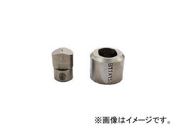 育良精機/IKURA コードレスパンチャー替刃 IS-MP15L・15LE用 SL10X15B(3969347) JAN:4992873232106