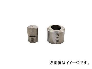 育良精機/IKURA コードレスパンチャー替刃 IS-MP15L・15LE用 SL11X15B(3969355) JAN:4992873232205