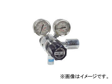 ヤマト産業/YAMATO 分析機用フィン付二段圧力調整器 NHW-1B NHW1BTRCCO2(4344804) JAN:4560125829581