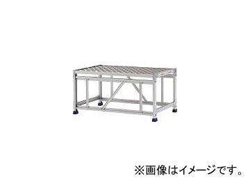 アルインコ/ALINCO 作業台(天板縞板タイプ)1段 CSBC151WS(4439872) JAN:4969182282337