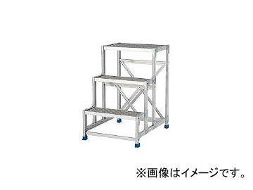 アルインコ/ALINCO 作業台(天板縞板タイプ)3段 CSBC396S(4439953) JAN:4969182282429