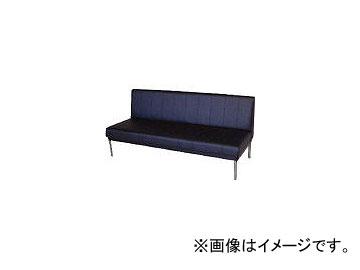 ミズノ/MIZUNO ロビーチェア 背付き 黒 MC415 BK(4656199)