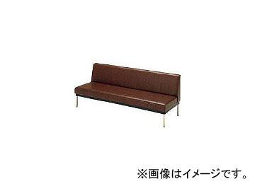 ミズノ/MIZUNO ロビーチェア 背付き ブラウン MC415 BR(4656202)
