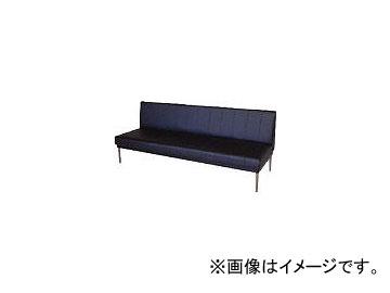ミズノ/MIZUNO ロビーチェア 背付き 黒 MC418 BK(4656211)