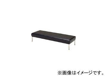 ミズノ/MIZUNO ロビーチェア 背無し 黒 MC425 BK(4656237)