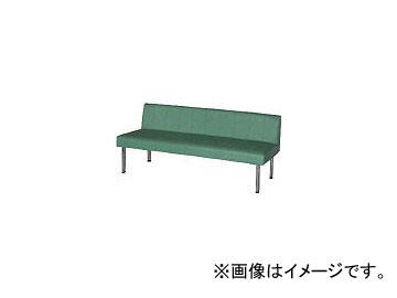ミズノ/MIZUNO ロビーチェア 背付き 緑 MC718 GN(4656300)