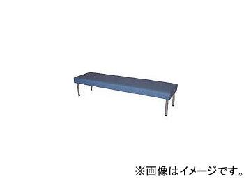 ミズノ/MIZUNO ロビーチェア 背無し 青 MC728 B(4656326)