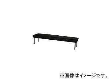 ミズノ/MIZUNO ロビーチェア 背無し 黒 MC728 BK(4656334)