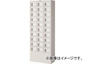 トラスコ中山/TRUSCO 預かりロッカー3列10段 内筒交換錠 KTL310A(4540743)