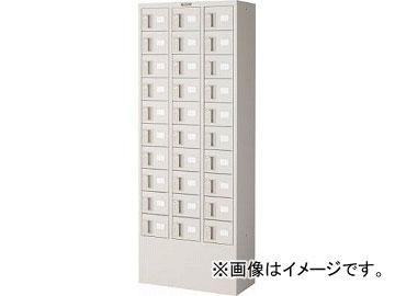 トラスコ中山/TRUSCO 預かりロッカー3列10段 ダイヤル錠 KTL310D(4540760)