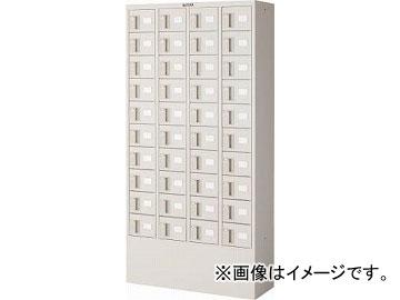 トラスコ中山/TRUSCO 預かりロッカー4列10段 ダイヤル錠 KTL410D(4540794)