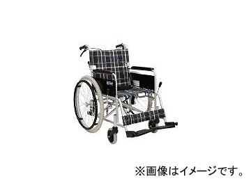 カワムラサイクル/AWAMURA-CYCLE 背折れあり 介助ブレーキ付 座幅40CM シート色緑チェック KA102SB40A9(4578627) JAN:4514133008513