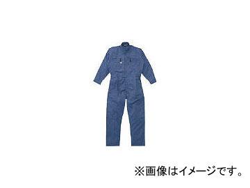 山田辰 ツナギ服 LLイズ ブルー 5750BLLL(4479084) JAN:4582103912351