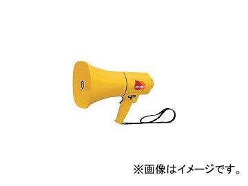 ノボル電機製作所/NOBORUDENKI レイニーメガホン15W 防水仕様 ホイッスル音付き(電池別売) TS714(4334311) JAN:4543853000347