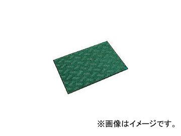ミヅシマ工業/MIZUSHIMA 抗菌マット 600X900 緑 4960060(4497325)