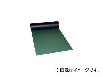 ミヅシマ工業/MIZUSHIMA ビニール長マット ピラミッド 910mmX20M 緑 4110320(4497091)