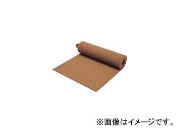 ミヅシマ工業/MIZUSHIMA クッションマット 1MX5MX5mm ブラウン 4070040(4497058)