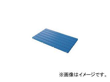 山崎産業/YAMAZAKI YSカラースノコセフティ抗菌D型(キャップ付)ブルー F1153DBL(4332199) JAN:4903180406395