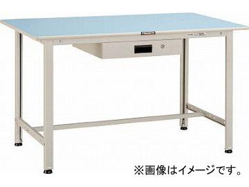 トラスコ中山/TRUSCO BO型軽量作業台 1200X750 薄型1段引出付 BO1275UDK1(4544196)