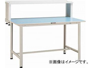 トラスコ中山/TRUSCO BO型軽量作業台 1200X600 上棚付 BO1260YURB(4544153)