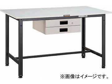 トラスコ中山/TRUSCO RAE型作業台 1800X900XH740 DG色 RAE1809DG(4545729)