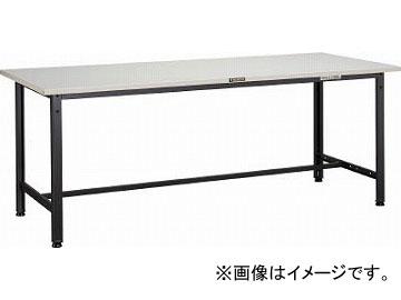 トラスコ中山/TRUSCO SAE型作業台 900X600XH740 DG色 SAE0960DG(4546156)