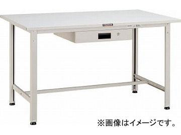 トラスコ中山/TRUSCO SAE型作業台 900X600XH740 薄型1段引出付 DG色 SAE0960UDK1DG(4546164)