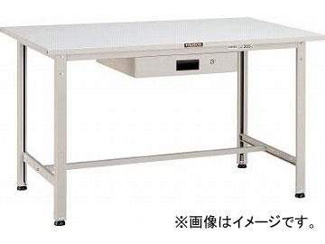 トラスコ中山/TRUSCO SAE型作業台 900X600XH740 薄型1段引出付 W色 SAE0960UDK1W(4546172)