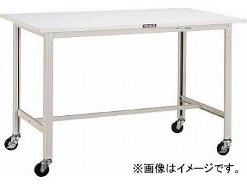 トラスコ中山/TRUSCO AE型作業台 900X600 75φキャスター付 W色 AE0960C75W(4542614)
