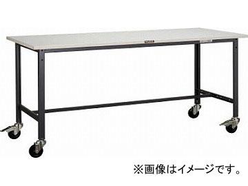 トラスコ中山/TRUSCO SAE型作業台 1800X900XH740 100φキャスター付 SAE1809C100DG(4546610)