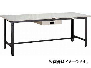 トラスコ中山/TRUSCO LEWS型作業台 900X600XH740 薄型1段引出付 LEWS0960UDK1(4544919)