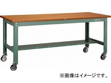 トラスコ中山/TRUSCO HW型作業台 1200X750 100φキャスター付 HW1200CU100(4544846)