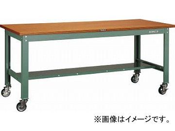 トラスコ中山/TRUSCO HW型作業台 1800X750 100φキャスター付 HW1800CU100(4544862)