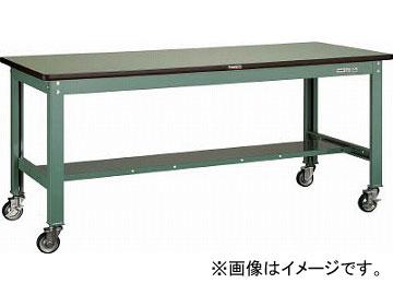 トラスコ中山/TRUSCO RHW型作業台 1200X750 100φキャスター付 RHW1200CU100(4546016)
