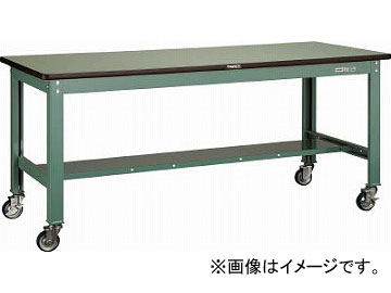 トラスコ中山/TRUSCO RHW型作業台 1800X750 100φキャスター付 RHW1800CU100(4546032)