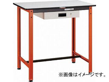 トラスコ中山/TRUSCO TFAE型立作業台 薄型1段引出付 900X600XH900 TFAE0960UDK1(4501322)