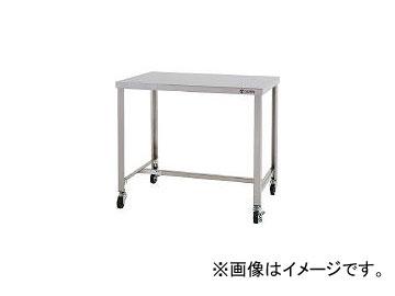 東製作所/AZUMA ステンレス作業台 H型枠タイプ スチールキャスター付き CHTHW900(4525370) JAN:4560155879525