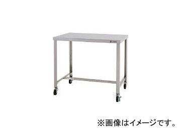 東製作所/AZUMA ステンレス作業台 H型枠タイプ スチールキャスター付き CKTHW900(4525396) JAN:4560155879471