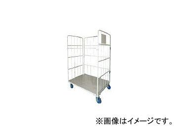 ワコーパレット/WAKO-PALLET 床板スチール製カゴ車 950x800x1700 WK695(4677323)