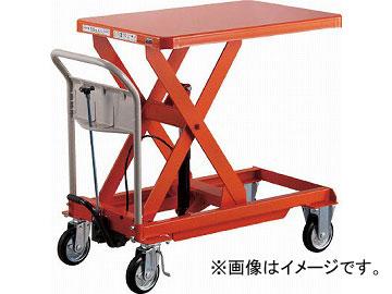 トラスコ中山/TRUSCO ハンドリフタ 250kg 500X800 オレンジ HLFS250(4408659) JAN:4989999234565