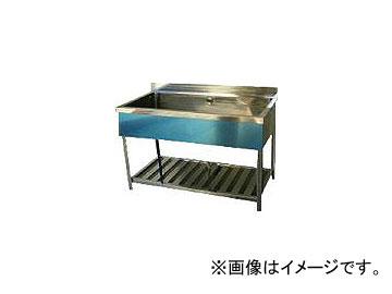 東製作所/AZUMA 一槽シンク(ホース付) 1200×600×800 HP11200(4525400) JAN:4560155870294