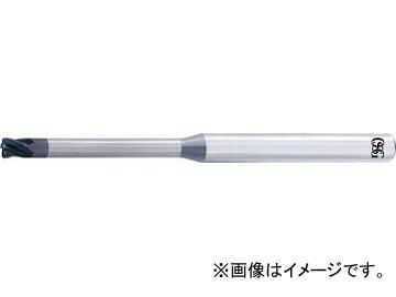 OSG 超硬エンドミルWXスーパーコート(高精度ブルノーズ) WXS-CPR-1XR0.3X1X30(6347843)