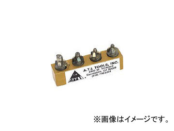 ATI カウンターシンクインテグラルパイロット3フルートセット ATI420D-4PC(4902912) JAN:4547230041695