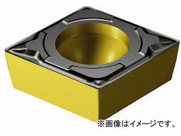 サンドビック コロターン107 旋削用ポジ・チップ CCMT09T302-PF_4325(6108172) 入数:10個