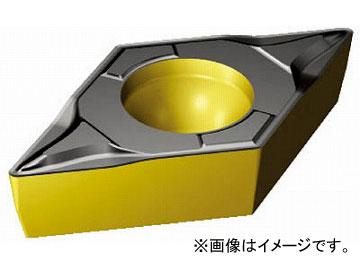 サンドビック コロターン107 旋削用ポジ・チップ DCMT070204-PF_4325(6108211) 入数:10個